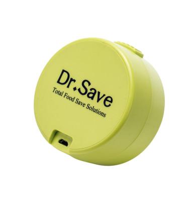 culinario Handvakuumierer Dr. Save in grün, aus Kunststoff, schnell und unkompliziert, mit Akku und USB-Ladekabel