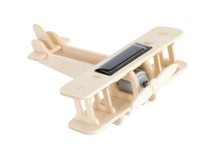 Egmont Toys Bastelset Solar-Doppeldecker