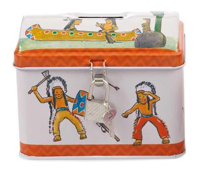 Egmont Toys Metallspardose Indianer