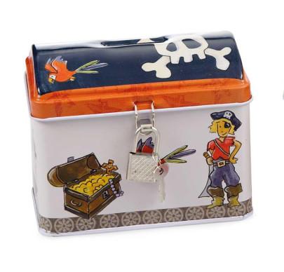 Egmont Toys Metallspardose Pirat 2