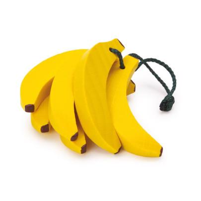 Erzi Bananenstaude, Spielzeug-Banane, Holz-Bana...