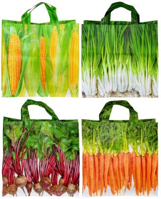 Esschert Design Einkaufstasche Gemüse, Mais/Zwi...
