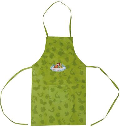 Esschert Design Kinderschürze, Gartenschürze für Kinder in grün, lang, ca. 35 cm x 0,5 cm x 83 cm