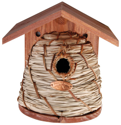 Esschert Design Nistkasten, Vogelhaus, ca. 20 cm x 19 cm x 26 cm Anzahl: 1 Stück