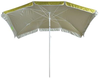Esschert Design Sonnenschirm grün 200x125cm, höhenverstellbar grün