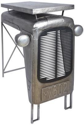 Esschert Design Traktortisch aus Metall, 100 x 67 x 104 cm, im Traktorkühler-Design, Deko-Tisch, Stehtisch