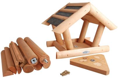 Esschert Design Vogelhaus, Vogelfutterhaus in Geschenkbox, verschiedene Ausführungen