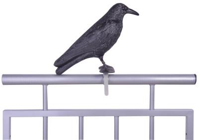 Esschert Design Vogelschreck Krähe, 12,9x36,2x22,2 cm Krähe