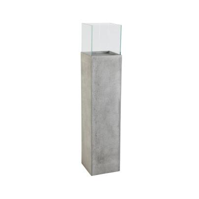 *NEU*: Bodenwindlicht aus Faserzement, mit Glasaufsatz