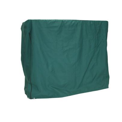greemotion Schutzhülle für Hollywoodschaukeln, Wetterschutzhülle, Gartenhülle, Abdeckung, 200 x 120 x 170 cm, aus Polyester, in grün