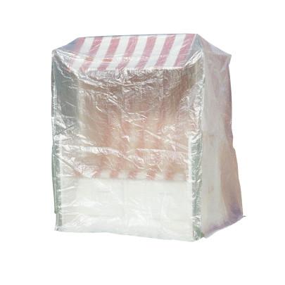 greemotion Schutzhülle für Strandkorb, Wetterschutzhülle, Gartenhülle, Abdeckung, 180 x 135 x 115 cm, mit PE-Bändchengewebe