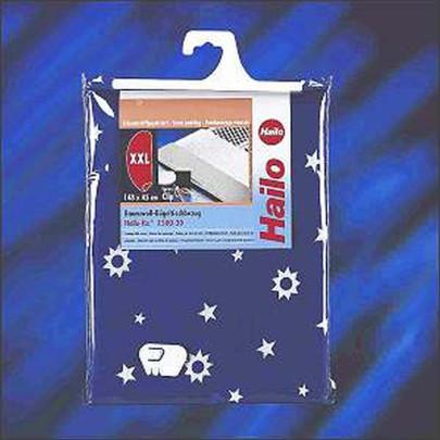 HAILO Bügeltisch-Bezug Swingline, reine Baumwolle, Bügelfläche 20 x 38 cm, sortierte Motive
