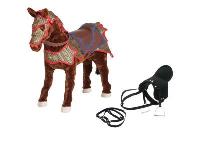 Happy People Spielzeug Pferd Ritterpferd, mit S...