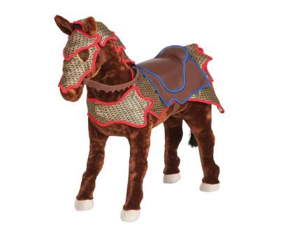 Spielzeug Pferd Ritterpferd mit Sound, dunkel-b...