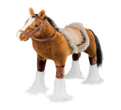 Spielzeug Pferd in braun, mit Sound, Sattelhöhe...