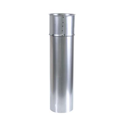 KaminoFlam® DoppelWandfutter für Ofenrohre mit 500 mm Rohr,150 mm