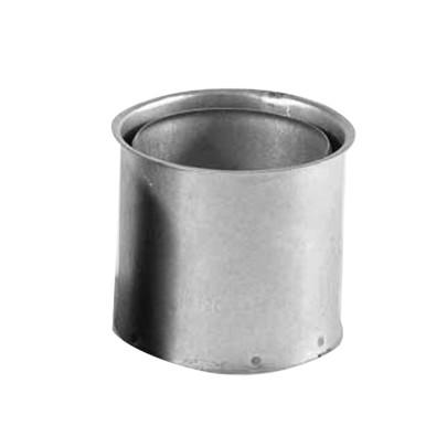 KaminoFlam® FAL (feueraluminiert) Wandfutter für Ofenrohre doppelt 110 mm