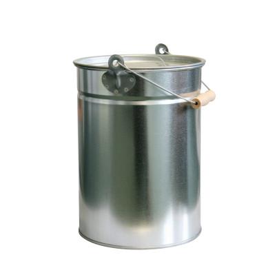 KaminoFlam® - Kohleneimer verzinkt 14 Liter mit Deckel