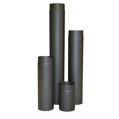 KaminoFlam® Ofenrohr Blauglanz 120 x 250 mm