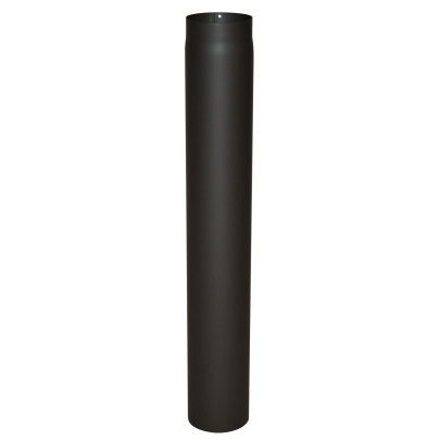 KaminoFlam® Ofenrohr Senotherm schwarz 2 mm 120 x 1000 mm
