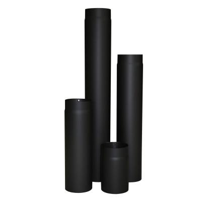 KaminoFlam® Ofenrohr Senotherm schwarz 2 mm 130 x 250 mm