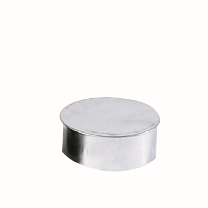 KaminoFlam® Rohrkapsel für Ofenrohre FAL (feueraluminiert) 110 mm