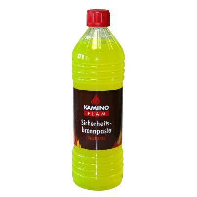 KaminoFlam® - Sicherheitsbrennpaste 1000ml Flasche