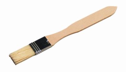 Kesper Backpinsel aus Buchenholz, FSC-zertifiziert, Länge ca. 20 cm, mit Hängeöse und ergonomisches Griff
