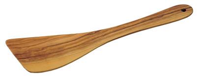 Kesper Pfannenwender aus Olivenholz, ca. 30 cm lang, Stärke 0,5 cm, Bratenwender, Küchenhelfer mit Hängeöse
