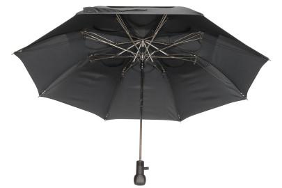 Livante Sturm Regenschirm mit Punkten, Durchmesser 103 cm, inklusive Hülle mit Schulterriemen