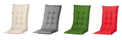 MADISON Dessin Panama Auflage für Liege, Gartenliege-Auflage, 75% Baumwolle, 25% Polyester, 200 x 65 x 8 cm