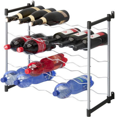 Metaltex Barolo Flaschenregal für 30 Flaschen