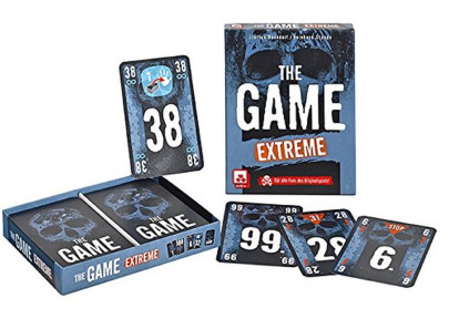 Nürnberger Spielkarten Kartenspiel The Game Extreme, fieses Kooperationsspiel, Made in Germany