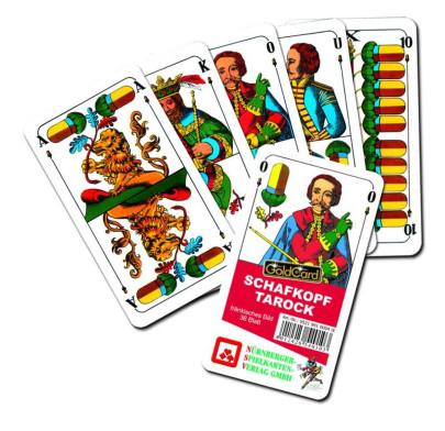 Nürnberger Spielkarten Schafkopf Classic fränki...