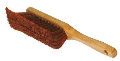 purclean Krallenbesen Haushalt - Der effiziente Besen zum Kehren, Handfeger, 15 cm Kehrbreite, natur lasiert