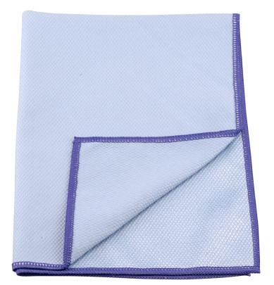 purclean Microfasertuch BEKKO mit Schuppenstruktur, extra saugstark, 30% Polyamide, 60x40cm, in blau Blau | Anzahl: 1 Stück