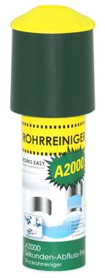 purclean Rohrreiniger A2000 - Der Abflussreiniger macht Pümpel, Pömpel u. Rohrreinigungsspirale überflüssig!