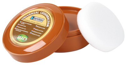 purclean universal Lederbalsam 250ml, inklusive Schwamm 1 Stück