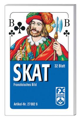 Ravensburger Skat, französisches Bild Faltschac...