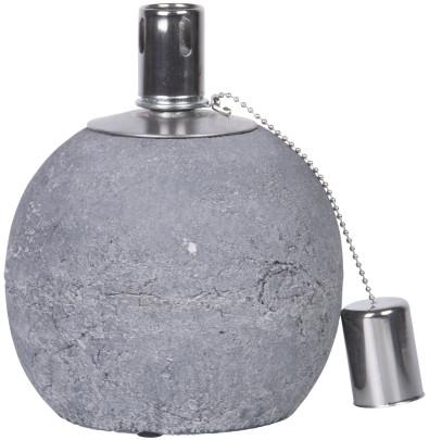 Rivanto® Öllampe aus Beton, Größe S, Ø 13,7 x 1...