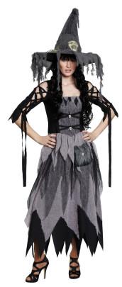 RUBIE´S Faschingskostüm - Scary Witch, Größe: 42