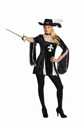 RUBIE´S Lady Musketier, Größe 32