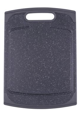 Steuber Küchenbrett 29 x 20 cm in anthrazit Granit-Optik ca. 29 x 20 cm