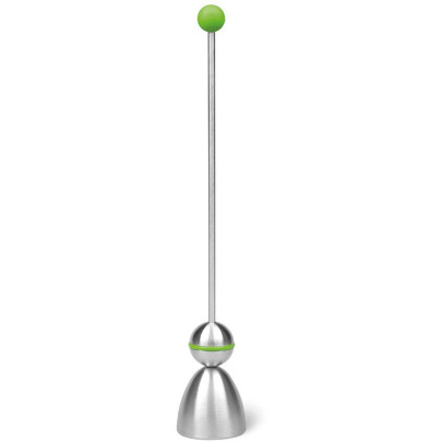 Take2 Clack Color Edition Eierschalensollbruchstellenverursacher, Eierköpfer mit Gummiaufsatz, in grün