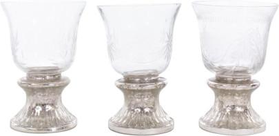 TISCHLICHTER ALHAMBRA, 3er Set, Glas