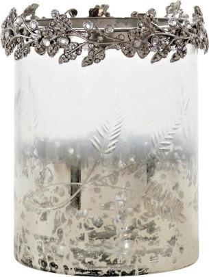 TISCHLICHTER FÉS, 3er Set, Glas, Metall