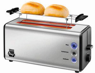 UNOLD Toaster Onyx Duplex 38915 schwarz / Edelstahl