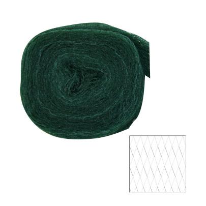 XCLOU GARDEN Vogelschutznetz, Vogelnetz, schwarz, 2 x 10 m, Masche 20 x 20 cm 2 x 10 Meter