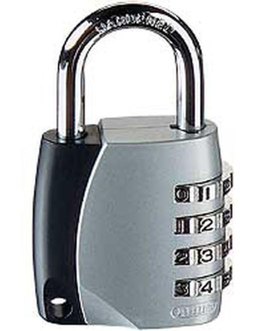ABUS Vorhangschloss-Kombination 155/40 SB/F, Zahlenschloss mit verstellbarem Code
