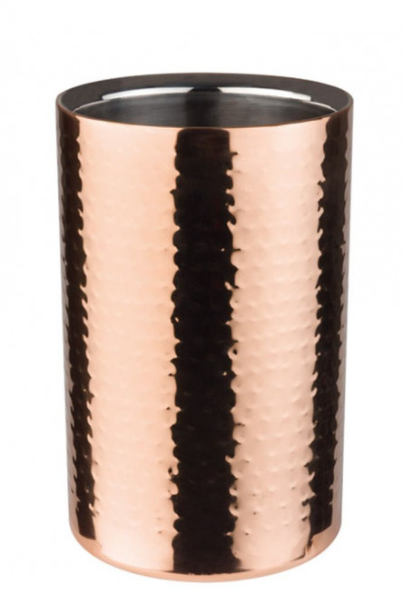 APS Flaschenkühler CUPPER aus Edelstahl, außen mit einer Kupferoptik, Ø 12 cm, H: 20 cm